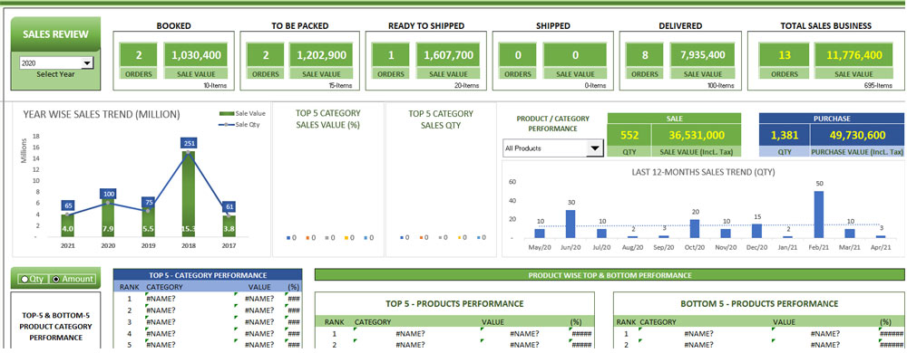 Supply-Chain-Inventory-Excel