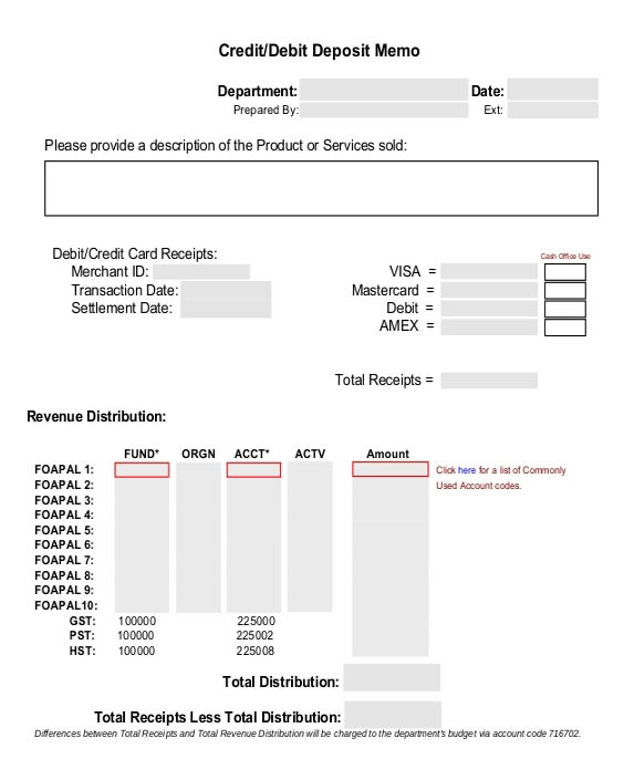 Credit Note invoice Template in Excel Format Excel124